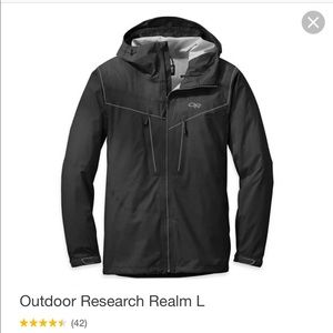 Outdoor Research Realm Rain Jacket Men's Small